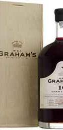 Портвейн сладкий «Graham s 10 Year Old Tawny Port» в деревянной коробке