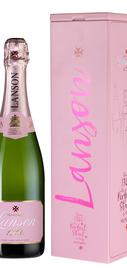 Шампанское розовое брют «Lanson Rose Label Brut Rose Music Box» в подарочной упаковке