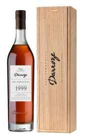 Арманьяк «Bas-Armagnac Darroze Unique Collection Chateau de Gaube a Perquie» 1999 г. в деревянной коробке