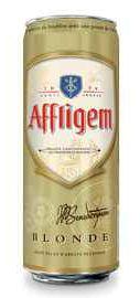 Пиво «Affligem Blond» в жестяной банке