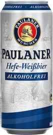 Пиво «Paulaner Hefe-Weissbier Non-Alcoholic» в жестяной банке