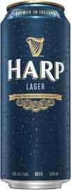 Пиво «Harp» в жестяной банке