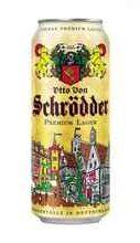 Пиво «Otto Von Schrödder Premium» в жестяной банке