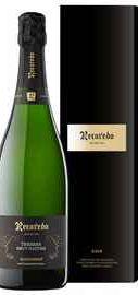 Вино игристое белое экстра брют «Recaredo Terrers Brut Nature» 2014 г. в подарочной упаковке
