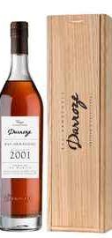 Арманьяк «Darroze Bas-Armagnac Domaine Couzard Lassalle» 2001 г., в деревянной подарочной упаковке