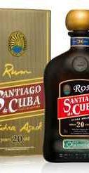 Ром «Santiago de Cuba Ron Extra Anejo 20 y.o.» в подарочной упаковке