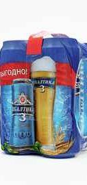 Пиво «Балтика классическое №3 0,45x4 мультипак»