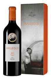 Вино красное сухое «Malleolus» 2017 г., в подарочной упаковке
