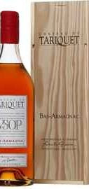 Арманьяк французкий «Bas-Armagnac Chateau du Tariquet VSOP Magnum» в деревянном футляре