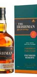 Виски «The Irishman Founder's Reserve Caribbean Cask Finish» в подарочной упаковке