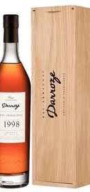 Арманьяк «Bas-Armagnac Darroze Unique Collection Domaine de Salie au Freche» 1998 г., в деревянной подарочной упаковке