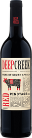 Вино красное сухое «Deep Creek Pinotage Western Cape Origin Wine» 2019 г.