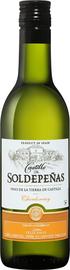 Вино белое полусухое «Castillo De Soldepenas Chardonnay»