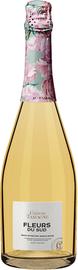 Вино игристое жемчужное белое брют «Шато Тамань Fleurs du Sud» вино с защищенным географическим указанием Кубань Таманский полуостров