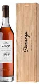 Арманьяк «Bas-Armagnac Darroze Unique Collection Domaine de Rieston a Perquie» 1999 г., в деревянной подарочной упаковке