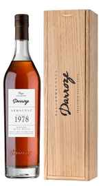 Арманьяк «Bas-Armagnac Darroze Unique Collection Domaine de La Poste a Condom» 1978 г., в деревянной подарочной упаковке