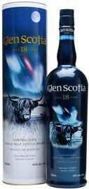 Виски односолодовый «Glen Scotia 18 Years Old» в подарочной упаковке