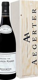 Вино красное сухое «Aegerter Bonnes Mares Grand Cru» 2013 г., в деревянной подарочной упаковке