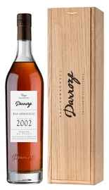 Арманьяк «Bas-Armagnac Darroze Unique Collection Domaine de Paguy a Betbezer» 2002 г., в деревянной подарочной упаковке