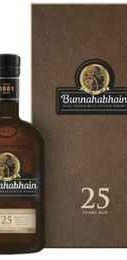 Виски «Bunnahabhain Aged 25 Years» в подарочной упаковке
