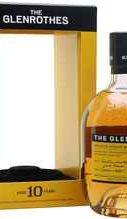 Виски односолодовый «Glenrothes 10 Years Old» в подарочной коробке