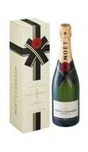 Шампанское белое брют «Moet & Chandon Brut Imperial» 2019 г., в подарочной упаковке (новогодняя)