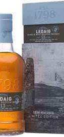 Виски «Ledaig 13 Years Old Port Pipe Matured» в подарочной упаковке
