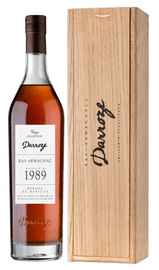 Арманьяк «Bas-Armagnac Darroze Unique Collection Domaine de Martin au Hontanx» 1989 г., в деревянной подарочной упаковке