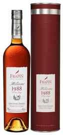 Коньяк французский «Domaine Chateau de Fontpinot 25 Y.O. 1988 Grande Champagne Premier Grand Cru» 1988 г., в тубе