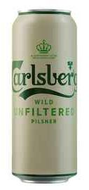 Пиво «Carlsberg Wild Unfiltered» в банке