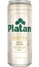 Пиво «Platan 10» в банка