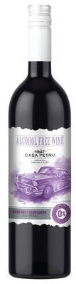 Вино безалкогольное красное сладкое «Casa Petru Cabernet Sauvignon»