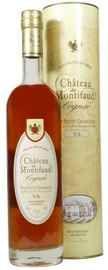 Коньяк французский «Petite Champagne Chateau de Montifaud V.S.» в подарочной упаковке