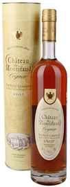 Коньяк французкий «Petite Champagne Chateau de Montifaud V.S.O.P.» в подарочной упаковке