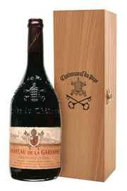 Вино красное сухое «Chateauneuf Du Pape Cuvee Tradition Rouge» в подарочной упаковке