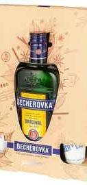 Ликер «Becherovka» в подарочной упаковке