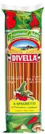 Спагетти «Divella Ristorante с помидорами и шпинатом» 500 гр.