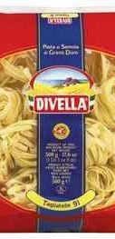 Лапша «Divella Tagliatelle» 500 гр.