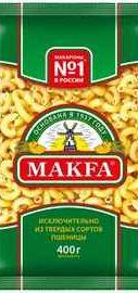 Рожки «Makfa» 400 гр.