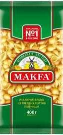 Ракушки «Makfa» 400 гр.