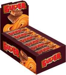 Шоколад в батончиках «Яшкино батончик SUPER с нугой и мягкой карамелью»