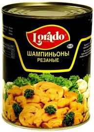 Овощные консервы «Шампиньоны резаные LORADO» 850 гр.